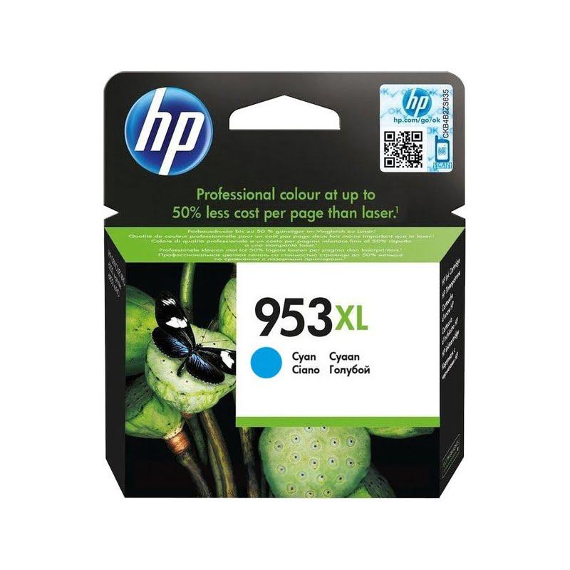 Cartouche 953XL haute capacité Cyan - F6U16AE pour imprimante  HP - 0
