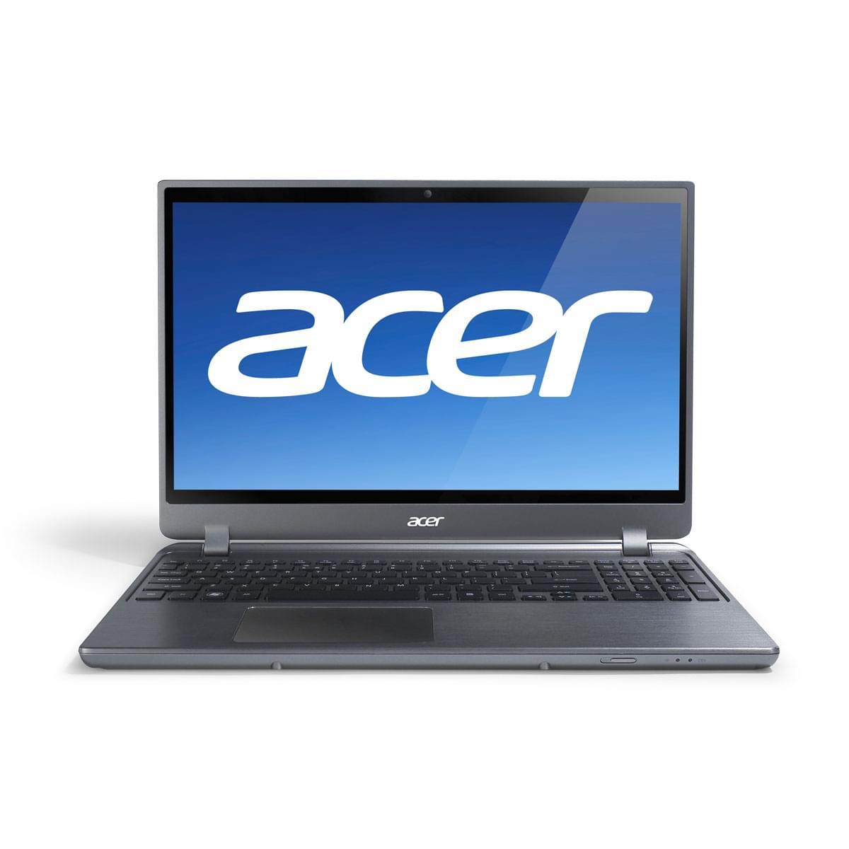 Acer M5-581TG-53314G52 (NX.M2GEF.001) - Achat / Vente PC Portable sur Cybertek.fr - 0