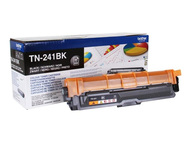 Toner Noir TN241BK 2500p pour imprimante Laser Brother - 0
