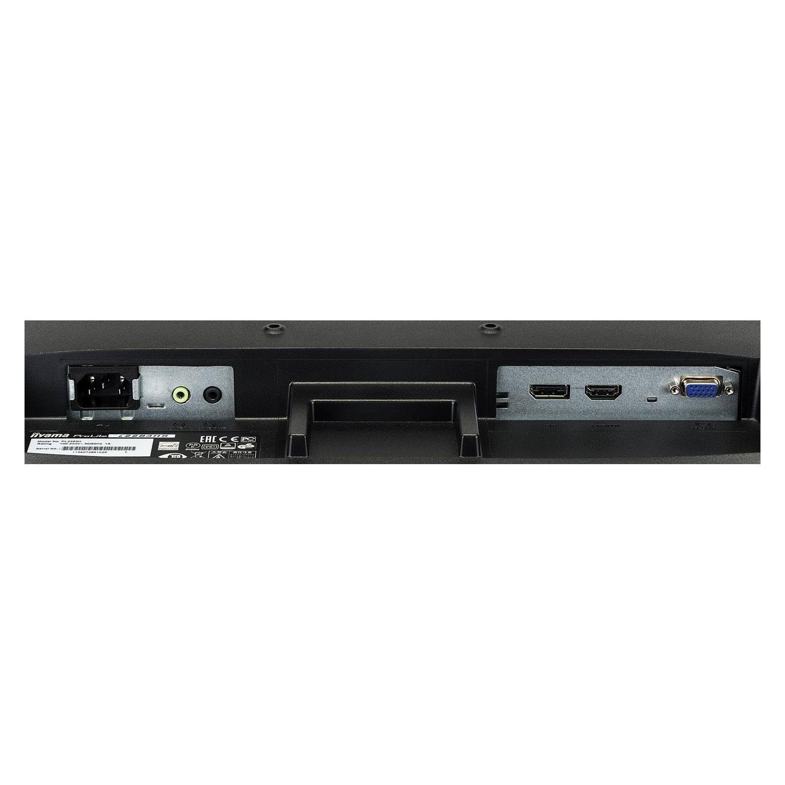 "Iiyama 22""  E2283HS-B3 -- - Ecran PC Iiyama - Cybertek.fr - 1"