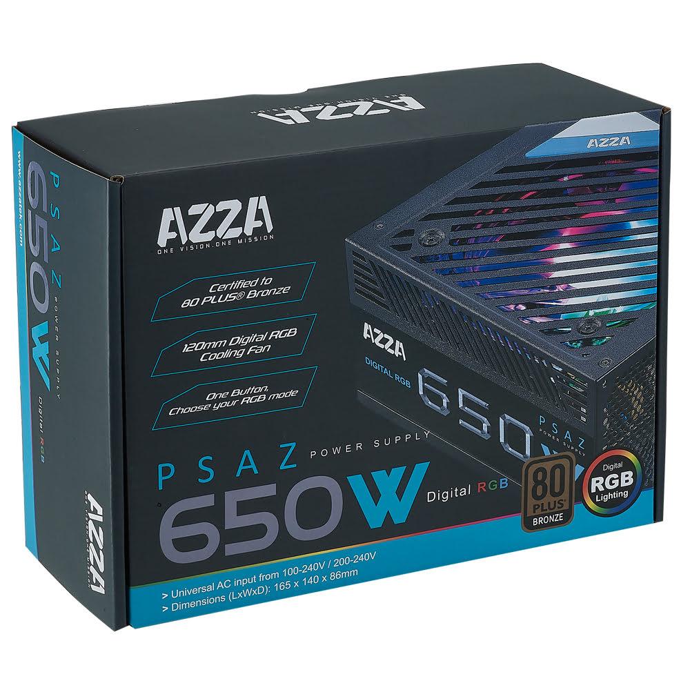 Azza 80+ Bronze (650W) - Alimentation Azza - Cybertek.fr - 2