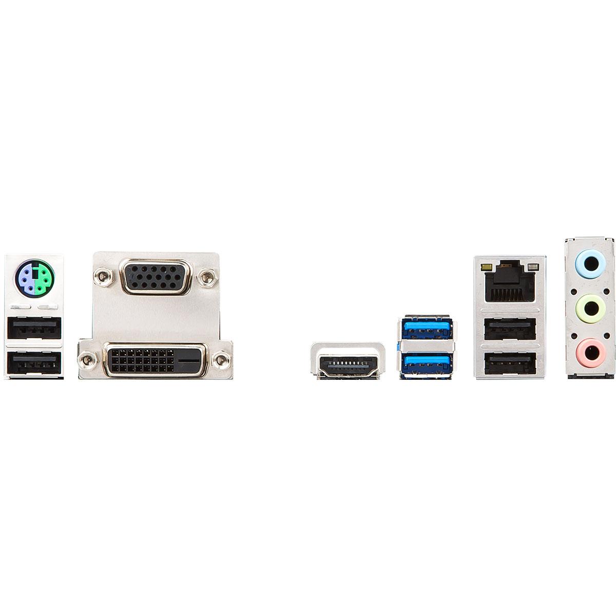 MSI H310M PRO-VDH Micro-ATX DDR4 - Carte mère MSI - Cybertek.fr - 1