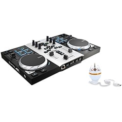 Hercules Table de mixage DJControl Air S Series Party Pack Cybertek