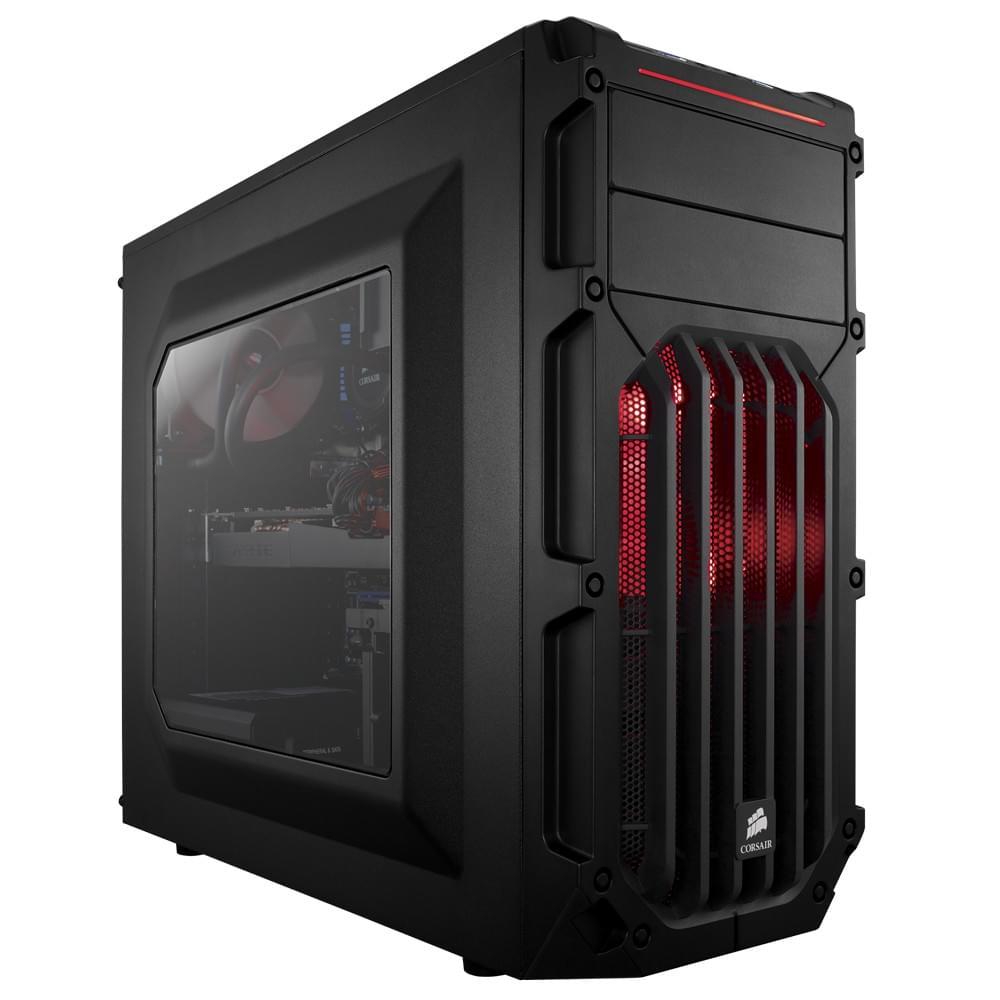 Corsair Carbide SPEC 03 Red LED - Boîtier PC - Sans Alim - 0