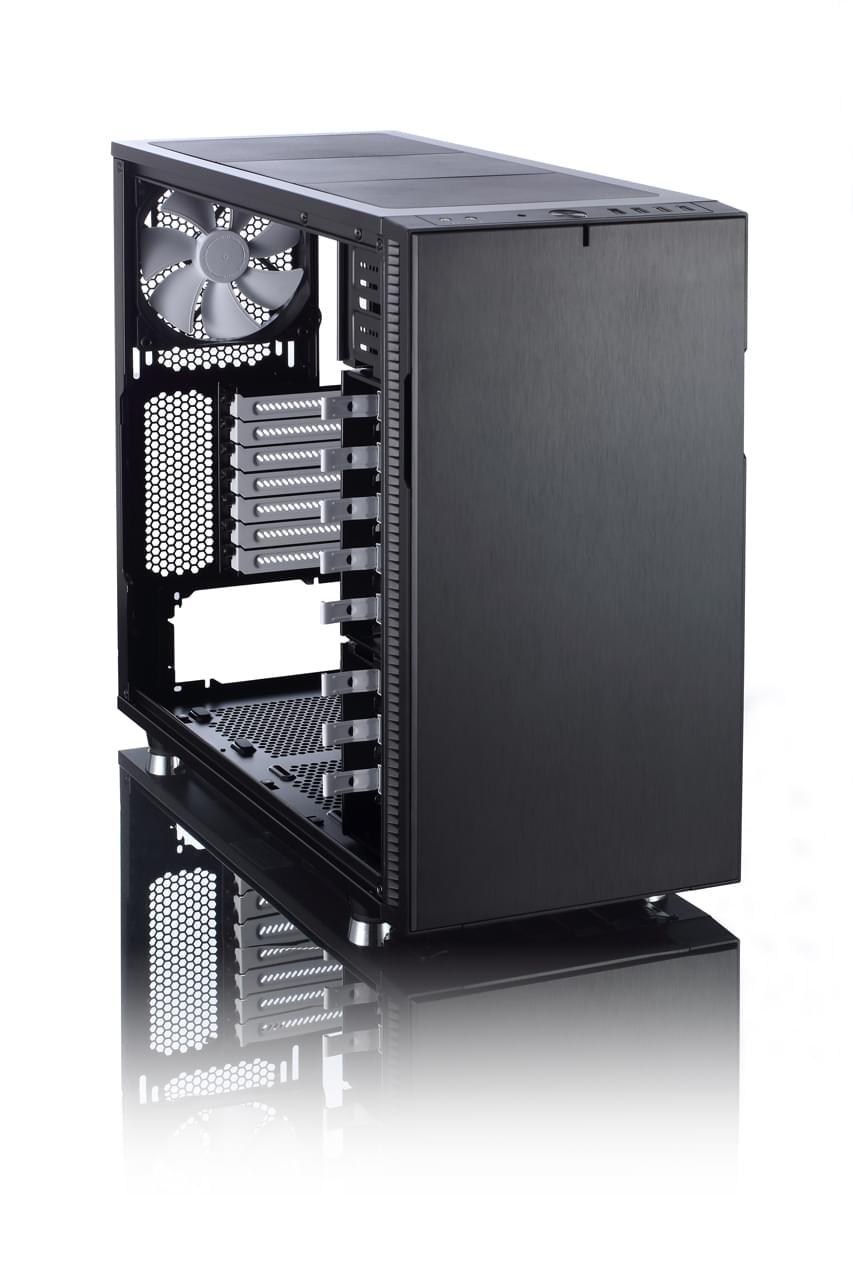 Fractal Design Define R5 Black Window (FD-CA-DEF-R5-BK-W) - Achat / Vente Boîtier PC sur Cybertek.fr - 0