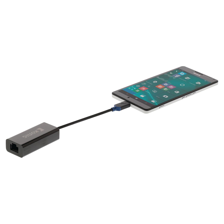 Adaptateur RJ45 Gigabit Femelle / USB 3.1 type C - 1