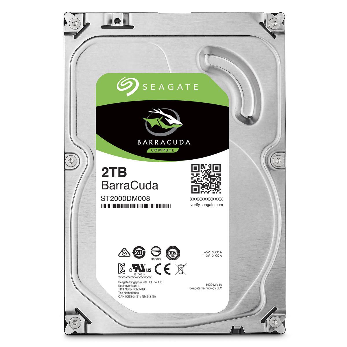 "Seagate ST2000DM008 2To 7200 Tr/min - Disque dur interne 3.5"" - 0"