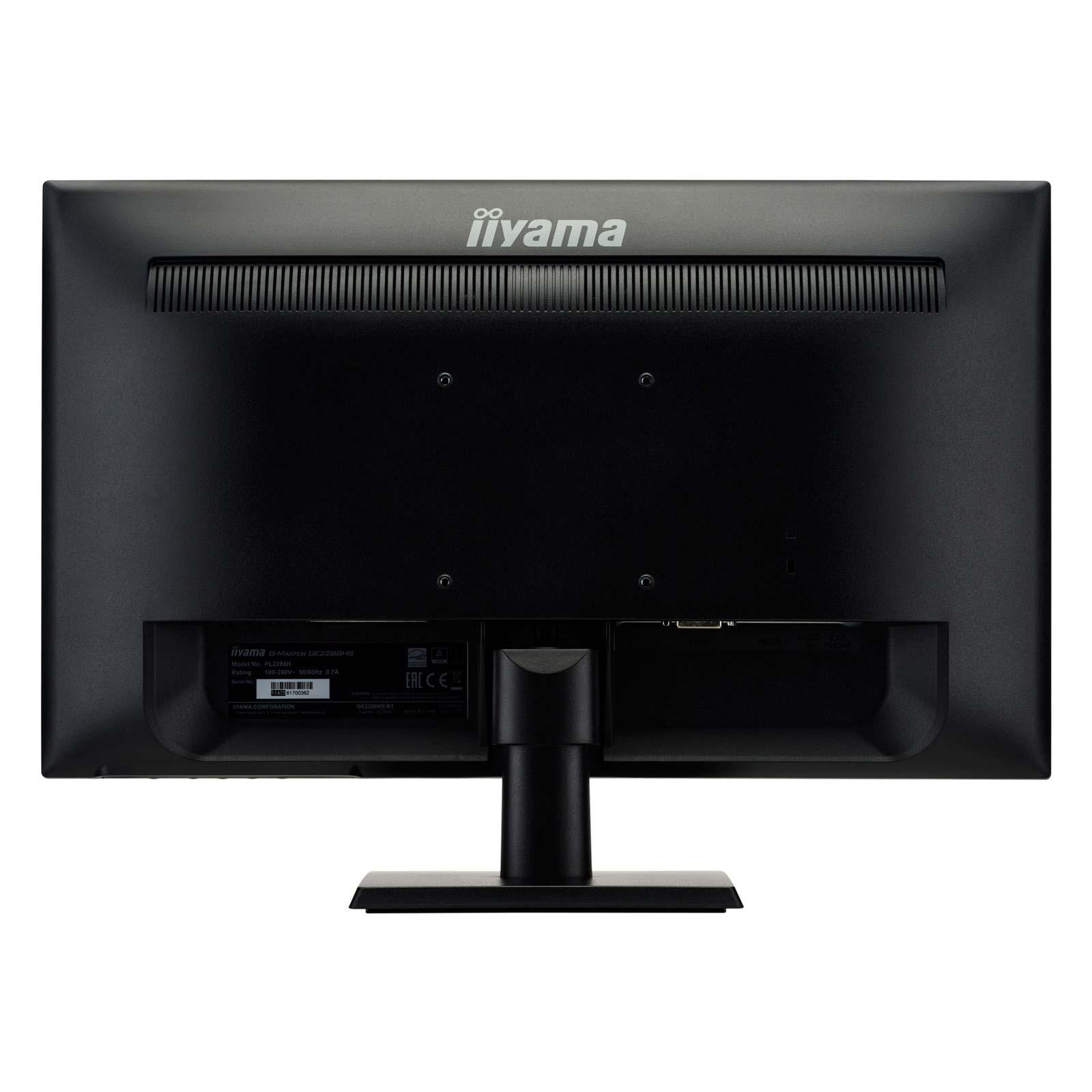"Iiyama 22""  GE2288HS-B1 - Ecran PC Iiyama - Cybertek.fr - 3"