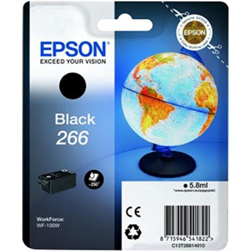 Cartouche T266 Noire - C13T26614 pour imprimante  Epson - 0