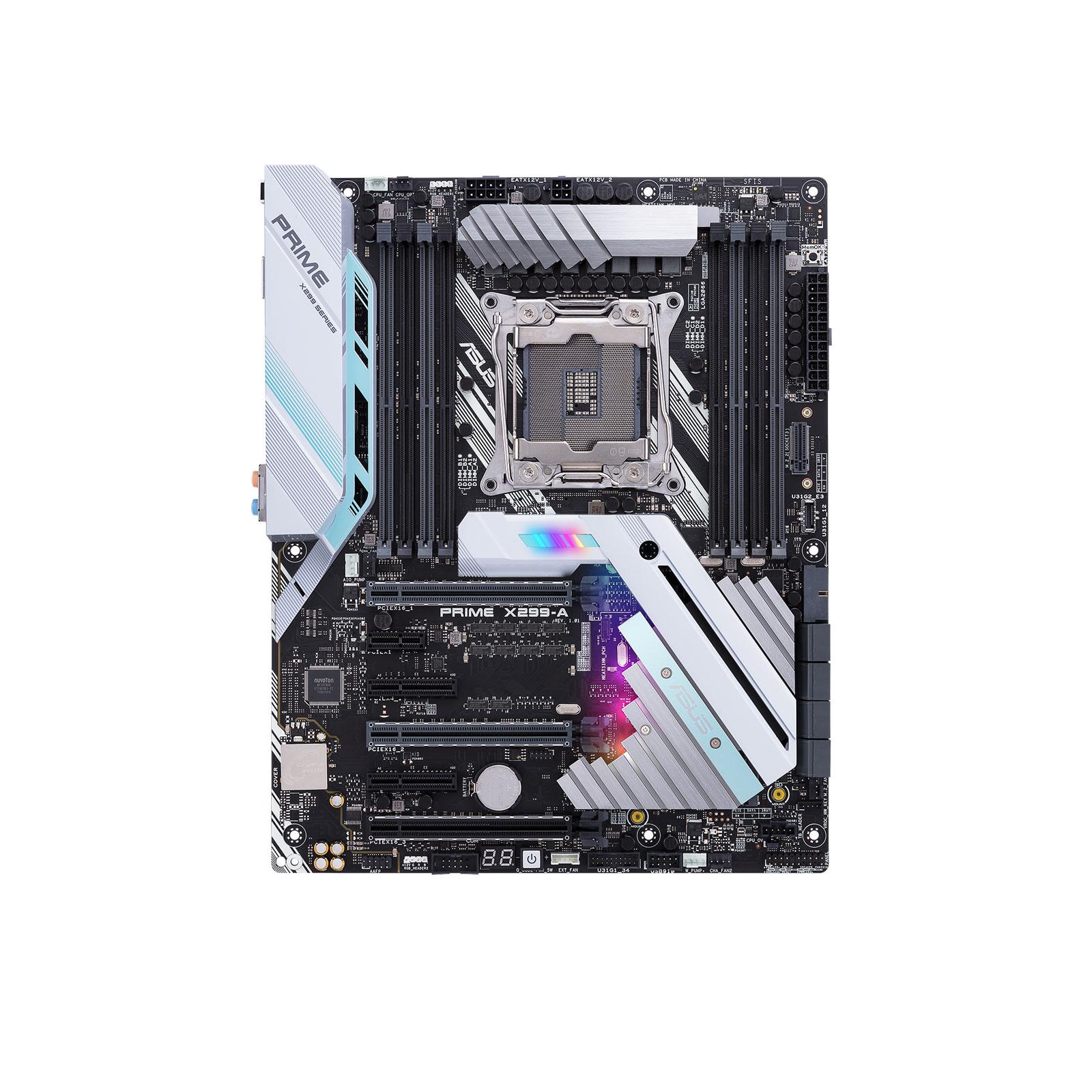 Asus PRIME X299-A ATX DDR4 - Carte mère Asus - Cybertek.fr - 1