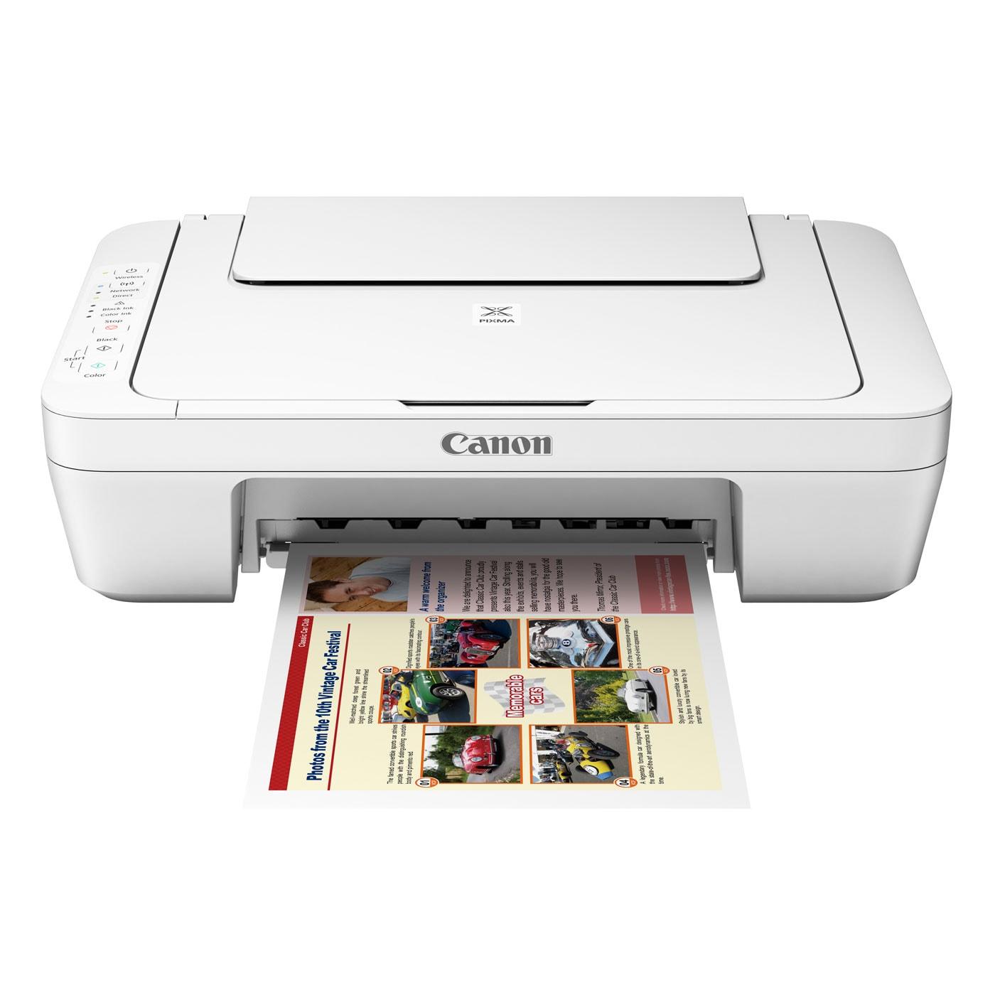 Imprimante multifonction Canon PIXMA MG3051 Blanche - Cybertek.fr - 2