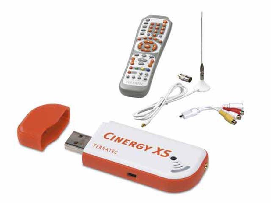 Cinergy Hybrid T USB XS FM (clé TNT+Analogique) - Tuner TNT Terratec - 0