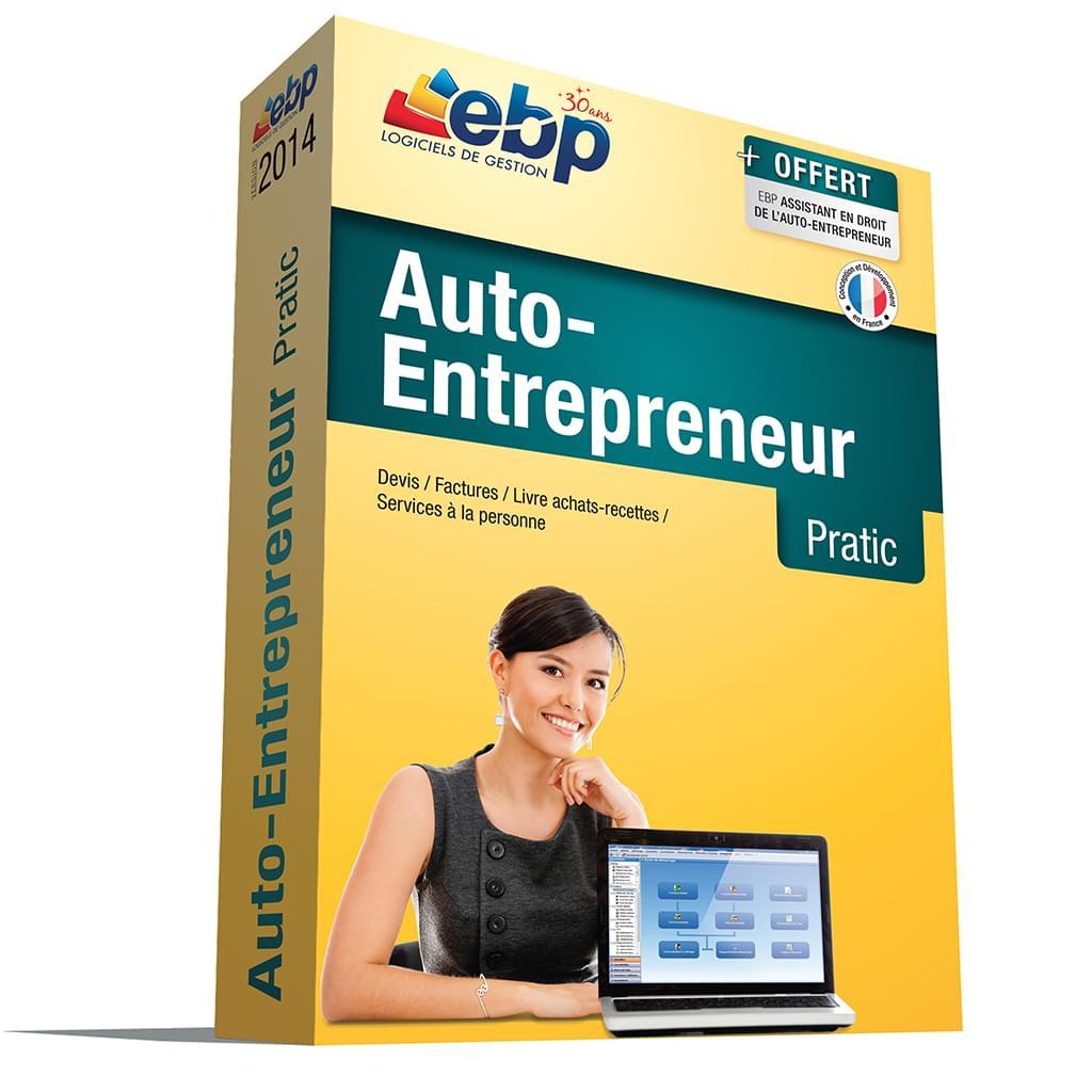 EBP Auto-Entrepreneur Pratic 2014 (1108E060FAA) - Achat / Vente Logiciel application sur Cybertek.fr - 0