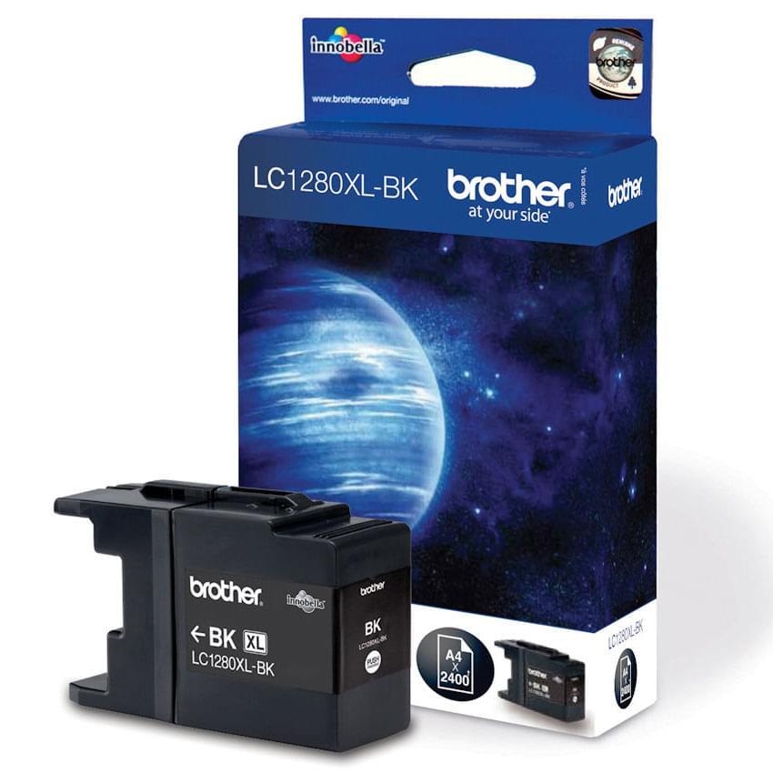 Brother Cartouche Noire 2400p (LC1280XLBK) - Achat / Vente Consommable imprimante sur Cybertek.fr - 0