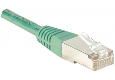 No Name Cordon Cat 6, 5.00 m FTP Vert (842502) - Achat / Vente Connectique Réseau sur Cybertek.fr - 0