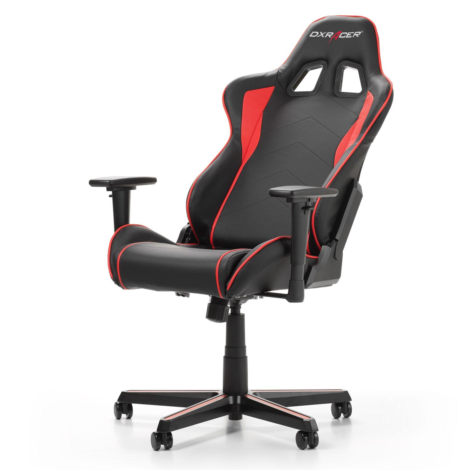 DXRacer Formula F08-NR Noir/Rouge - Siège PC Gamer - Cybertek.fr - 1