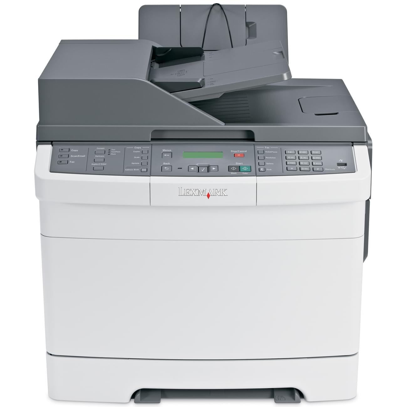 Lexmark X544DN (Laser Couleur) (26C0211) - Achat / Vente Imprimante Multifonction sur Cybertek.fr - 0