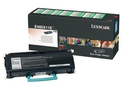 Toner Noir 15000p LRP - E460X11E pour imprimante Laser Lexmark - 0