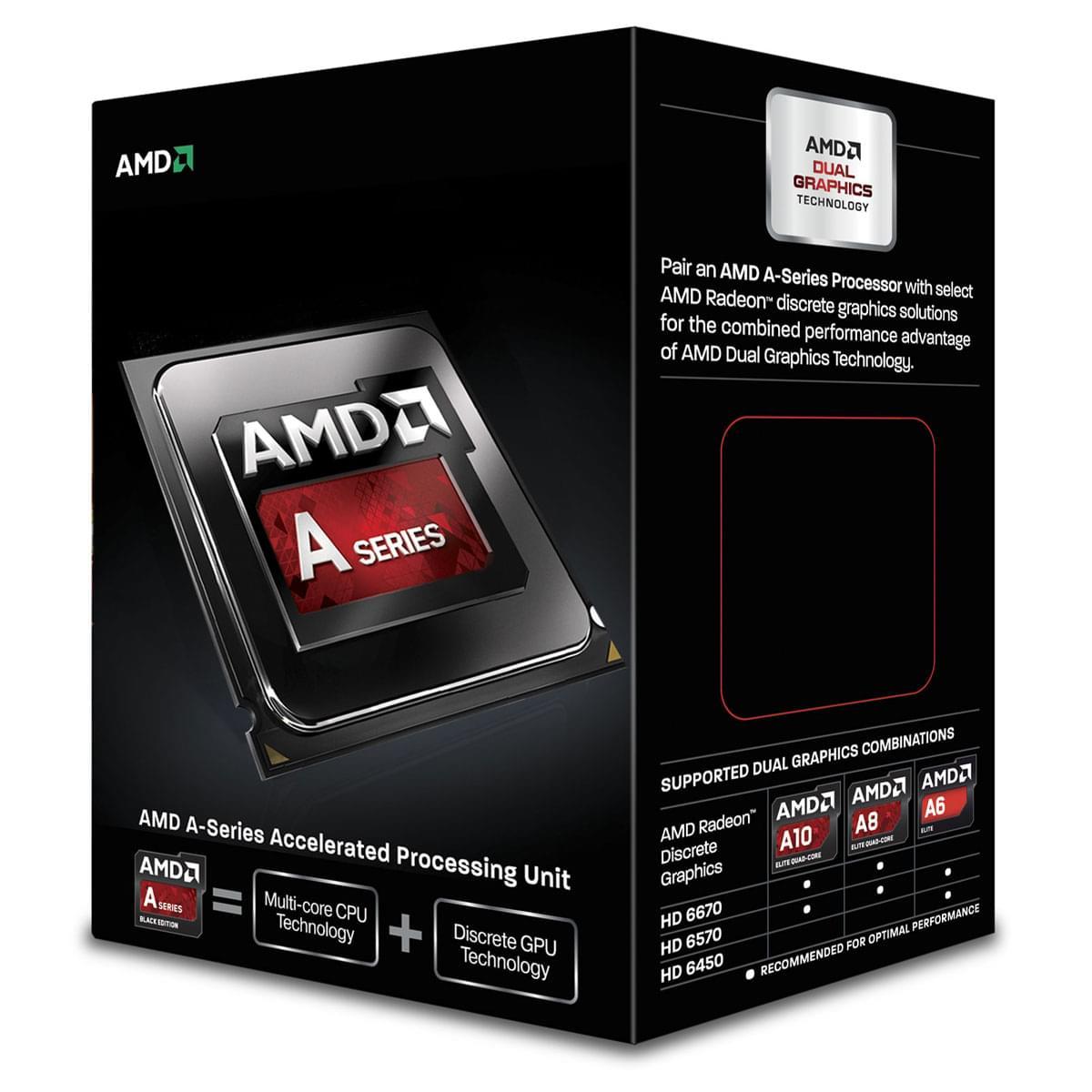 AMD A6-6400K -3.9GHz/1Mo/SKFM2/BOX (AD640KOKHLBOX) - Achat / Vente Processeur sur Cybertek.fr - 0