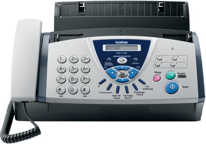 Imprimante Brother FAX T-106 - Cybertek.fr - 0
