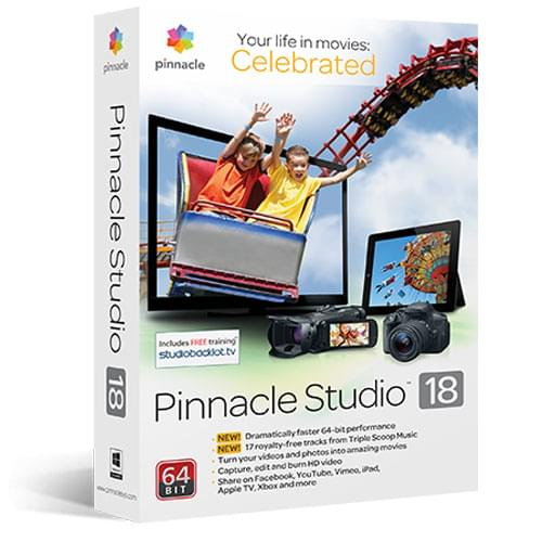 Pinnacle Studio 18 - Logiciel application - Cybertek.fr - 0