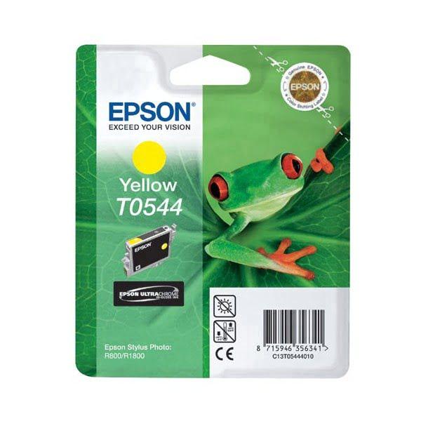 Cartouche T0544 Stylus R800 Yellow pour imprimante Jet d'encre Epson - 0