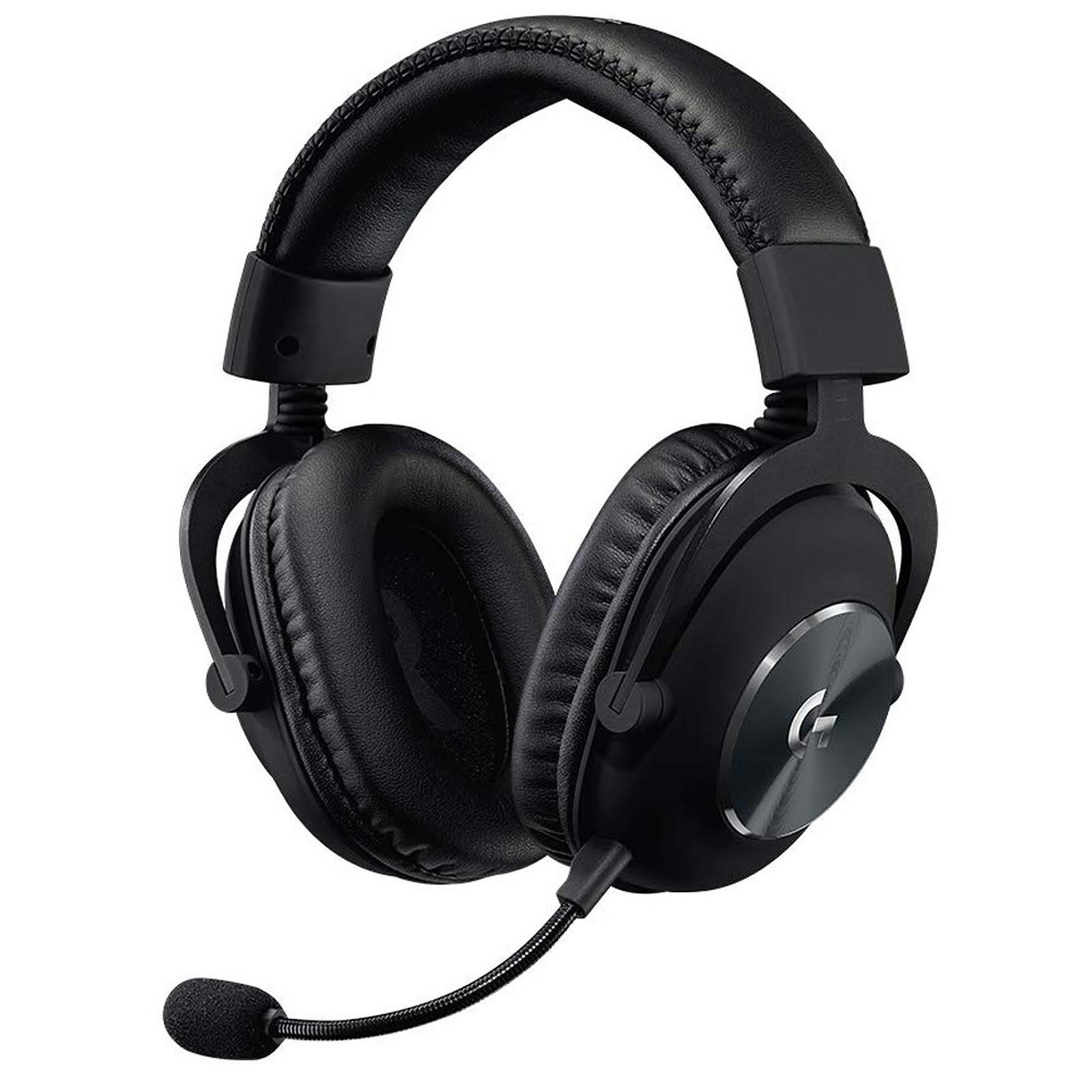Logitech G PRO X Gaming Headset 7.1 Surround Noir - Micro-casque - 0