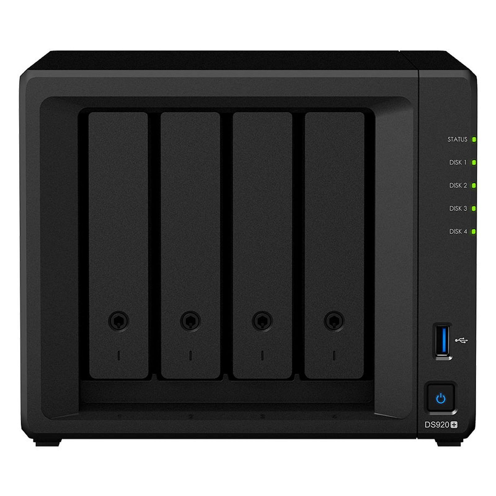 Synology DS920+ - 4 HDD - Serveur NAS Synology - Cybertek.fr - 0