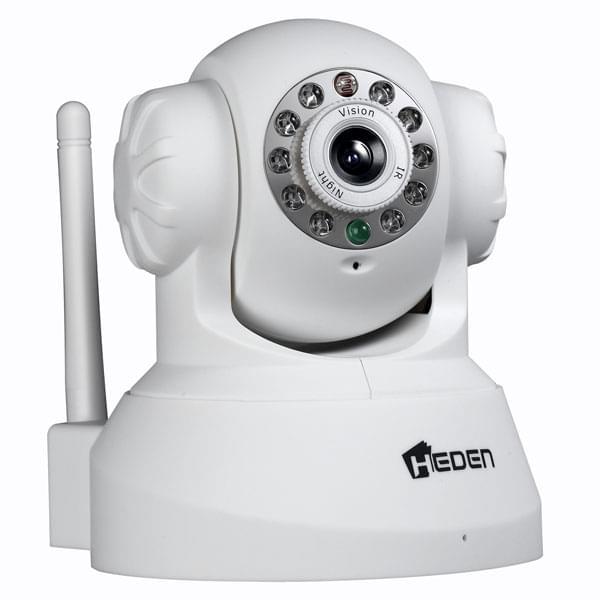Heden VisionCam WiFi Motorisée 2.2WH (CAMHED04IPWB) - Achat / Vente Caméra / Webcam sur Cybertek.fr - 0