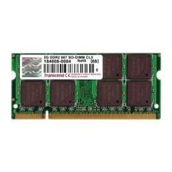 Transcend SO-DIMM 2Go DDR2 667 DIMM CL5 2Rx8 JM667QSU-2G - Mémoire PC portable - 0