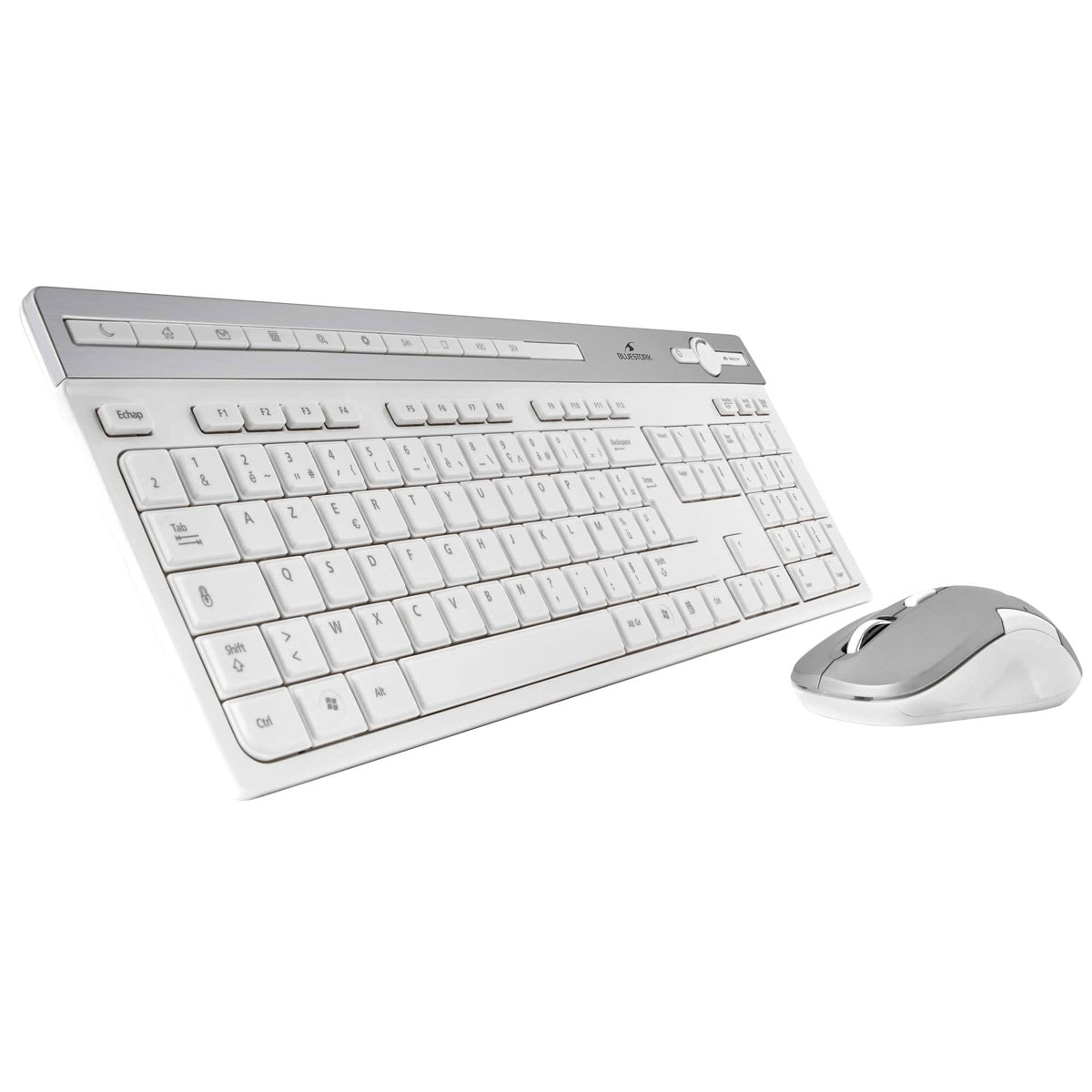 Bluestork Wireless SLIM Pack Easy III - Pack Clavier/Souris - 0