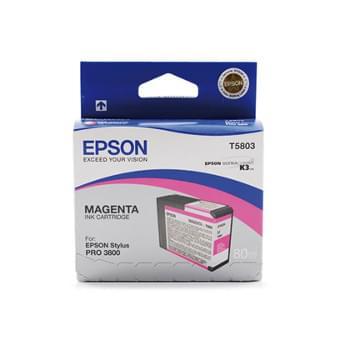 Cartouche Magenta T580300 pour imprimante Jet d'encre Epson - 0