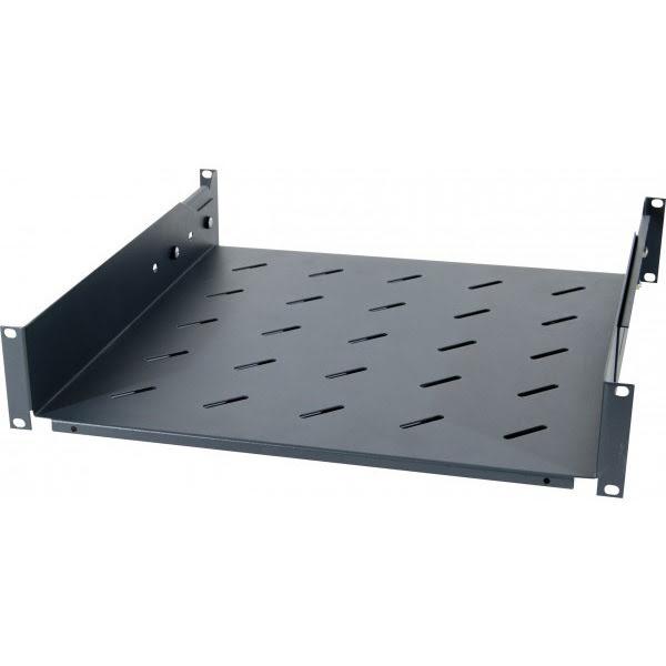 Dexlan Etagere fixe universelle Noire 750/900mm pour baie (755253) - Achat / Vente Réseau divers sur Cybertek.fr - 0