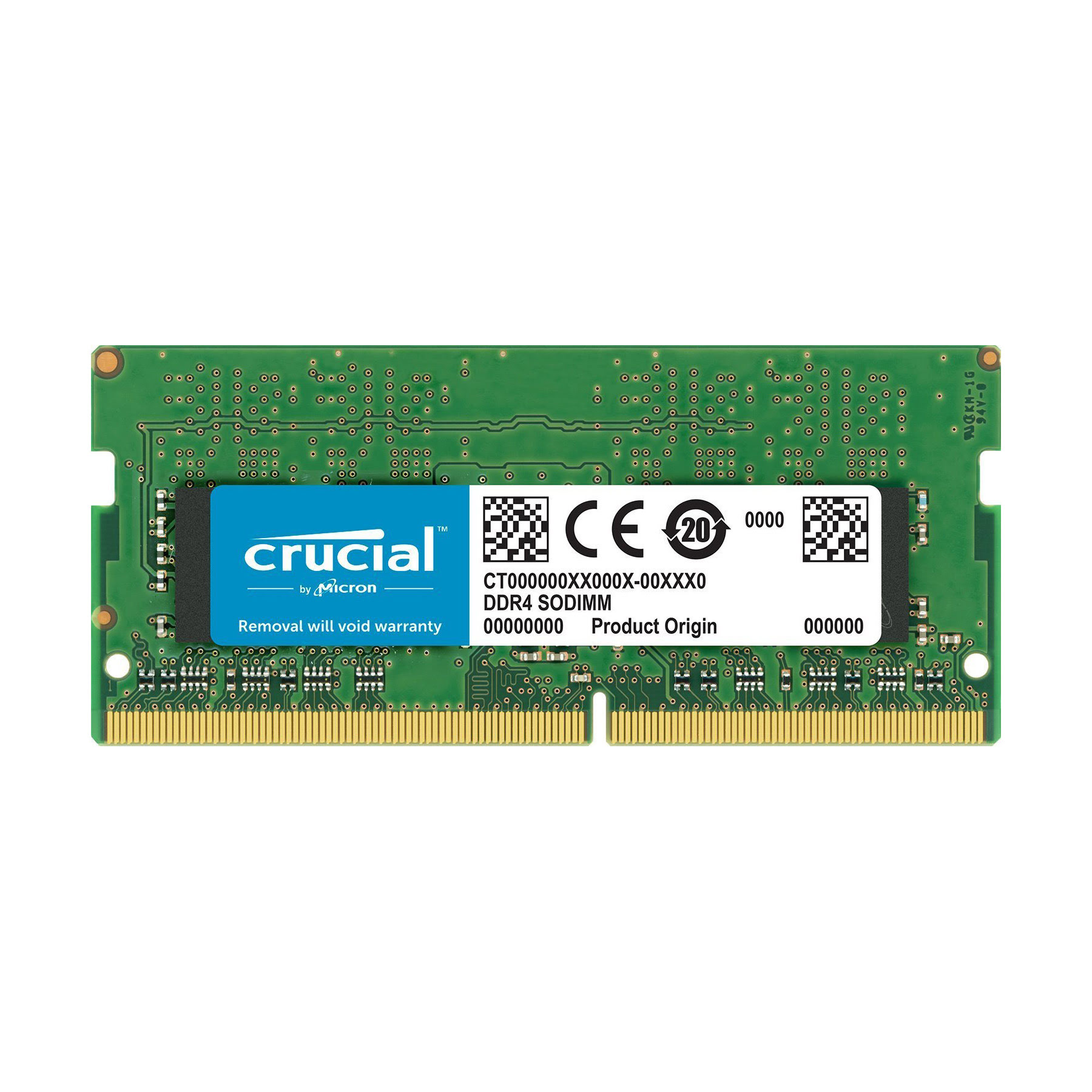 Crucial SO-DIMM 16Go DDR4 2400 for MAC CT16G4S24AM SO-DDR4 - Mémoire PC portable - 0