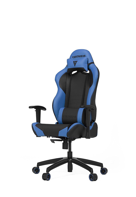 VERTAGEAR Racing Series SL2000 Noir/Bleu - Siège PC Gamer - 0