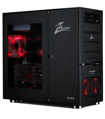 Zalman Z-machine GT1000 MT/sans Alim/Alu/ATX/Noir (GT-1000 BL) - Achat / Vente Boîtier PC sur Cybertek.fr - 0