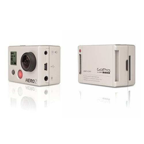 GoPro Mini Caméra de sport HD HERO2 MotorSport - Achat / Vente Caméra / Webcam sur Cybertek.fr - 0