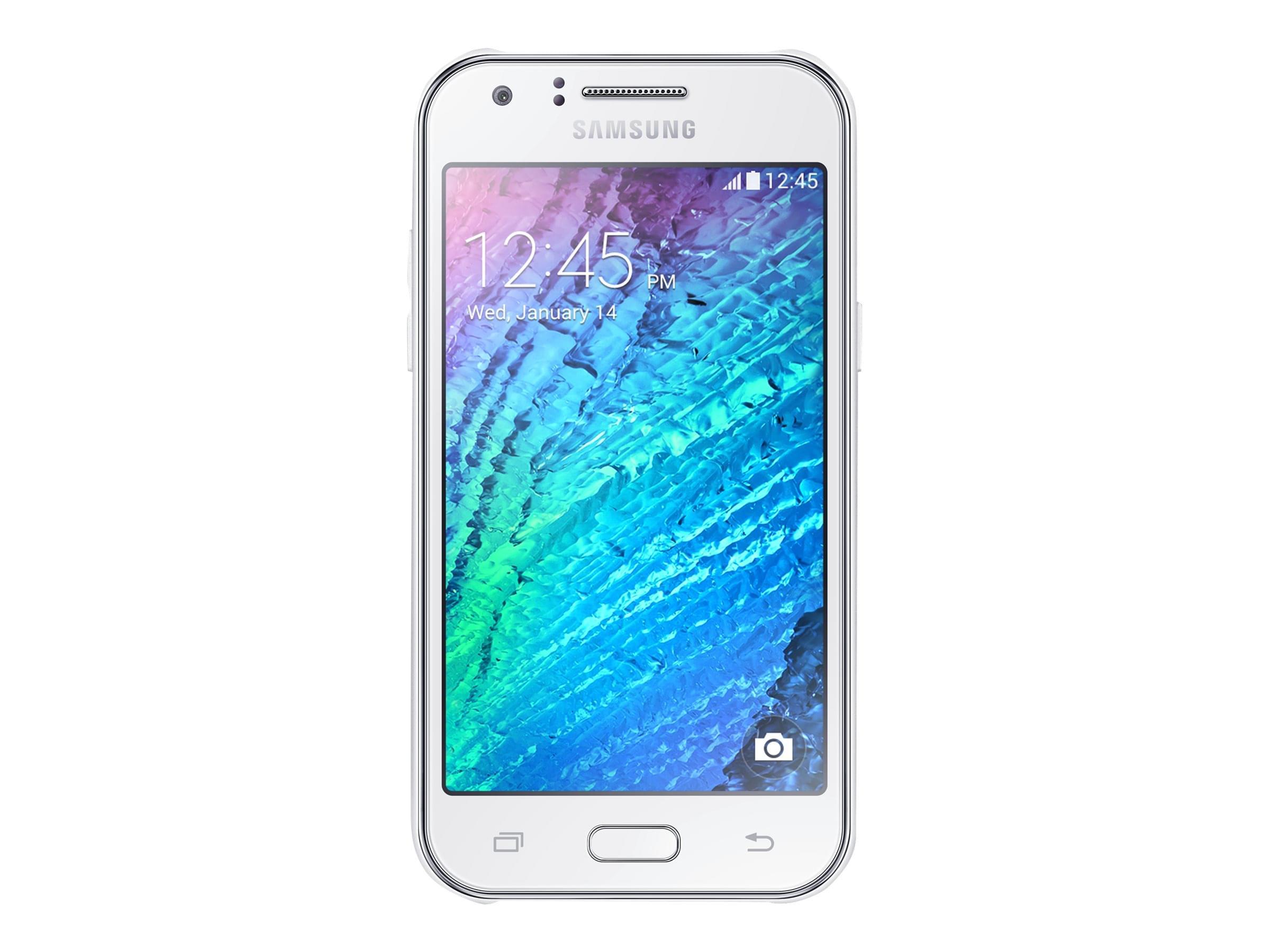 Samsung Galaxy J1 4Go SM-J100H Dual SIM White (SM-J100H) - Achat / Vente Téléphonie sur Cybertek.fr - 0