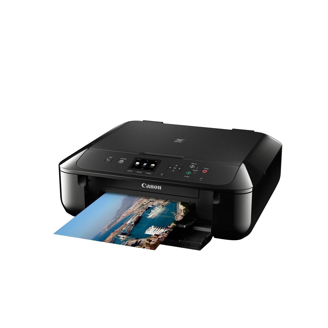 Canon PIXMA MG5750 Noire (0557C006) - Achat / Vente Imprimante Multifonction sur Cybertek.fr - 2