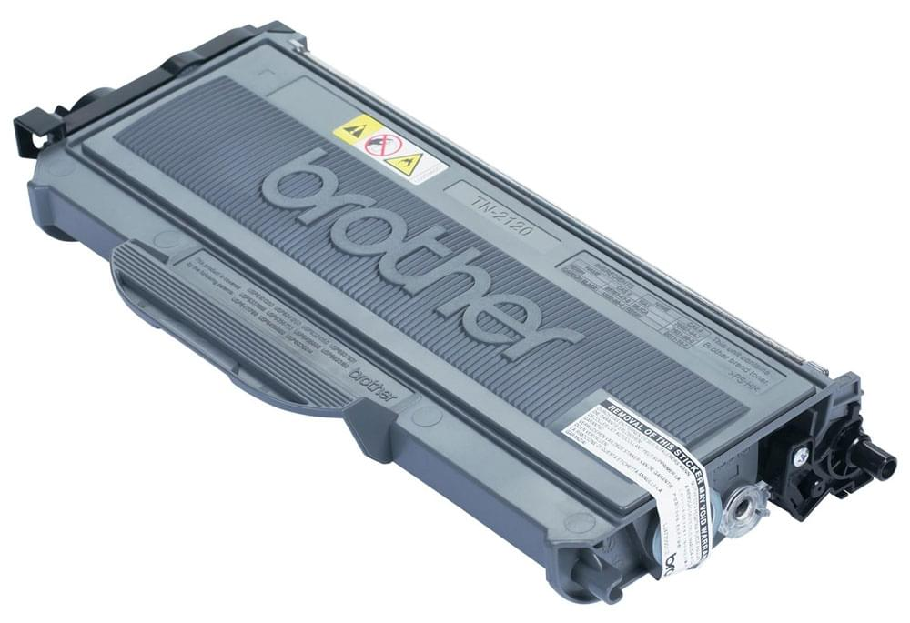 Toner Noir 2600p - TN-2120 pour imprimante Laser Brother - 0