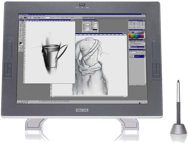 Wacom Cintiq 21UX (DTK-2100) - Achat / Vente Tablette graphique sur Cybertek.fr - 0