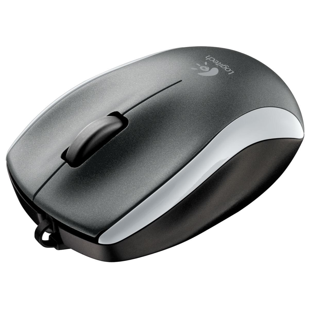 Logitech Mouse M125 Silver (910-001836) - Achat / Vente Souris PC sur Cybertek.fr - 0