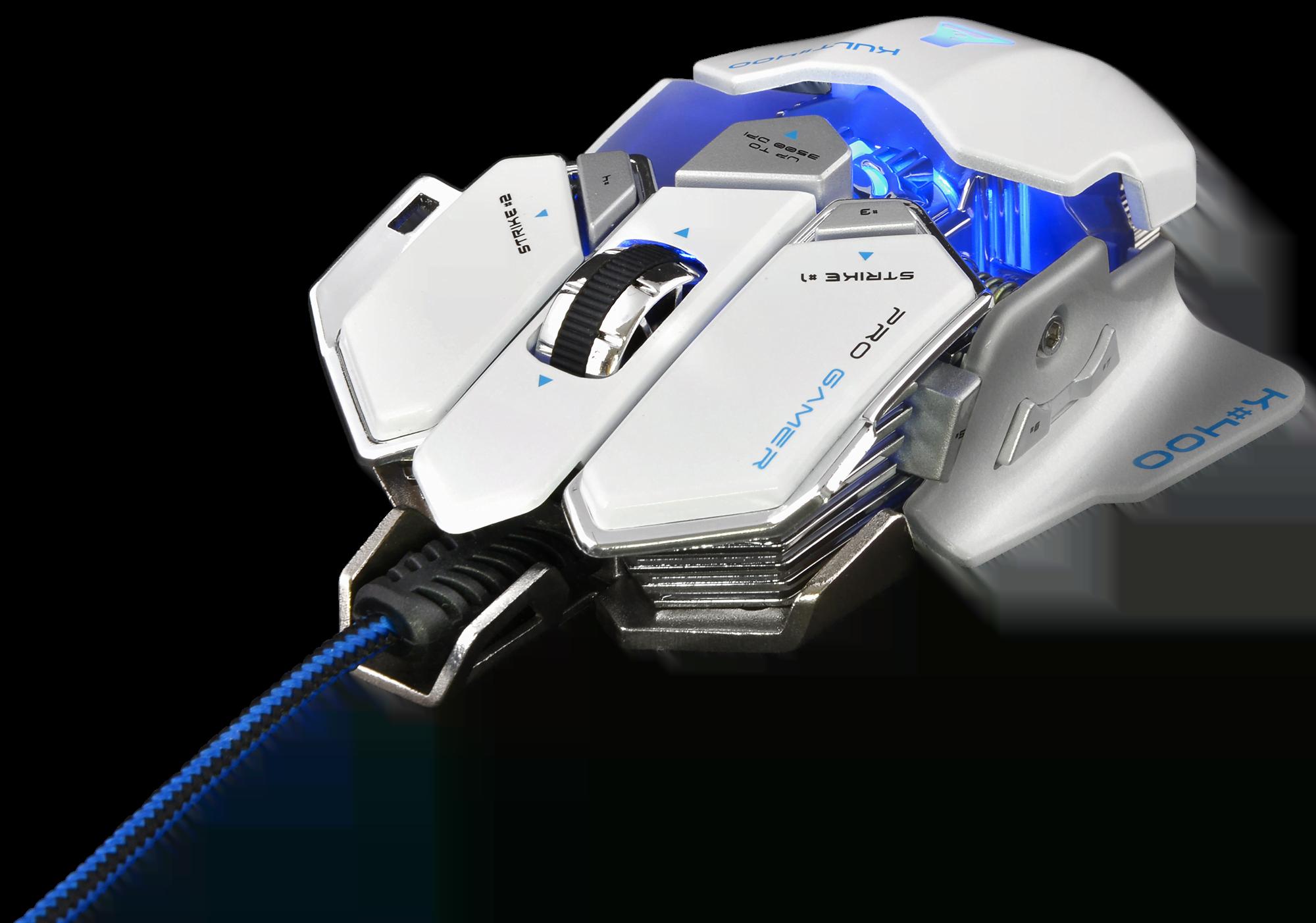 The G-LAB KULT 400 WHITE - Souris PC The G-LAB - Cybertek.fr - 0