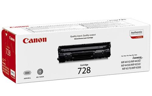 Toner Noir CRG 728  2100p - 3500B002 pour imprimante Laser Canon - 0