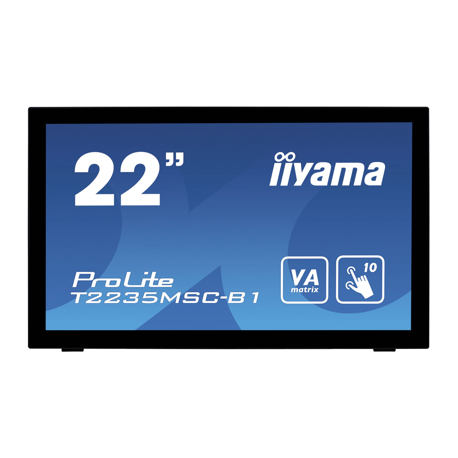 "Iiyama 22""  T2235MSC-B1 - Ecran PC Iiyama - Cybertek.fr - 0"