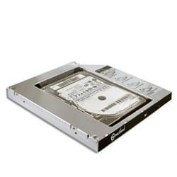 """Connectland Adapt. DD/SSD 2.5"""" empl.graveur 9.5mm  (2602012 soldé) - Achat / Vente Accessoire PC portable sur Cybertek.fr - 0"""