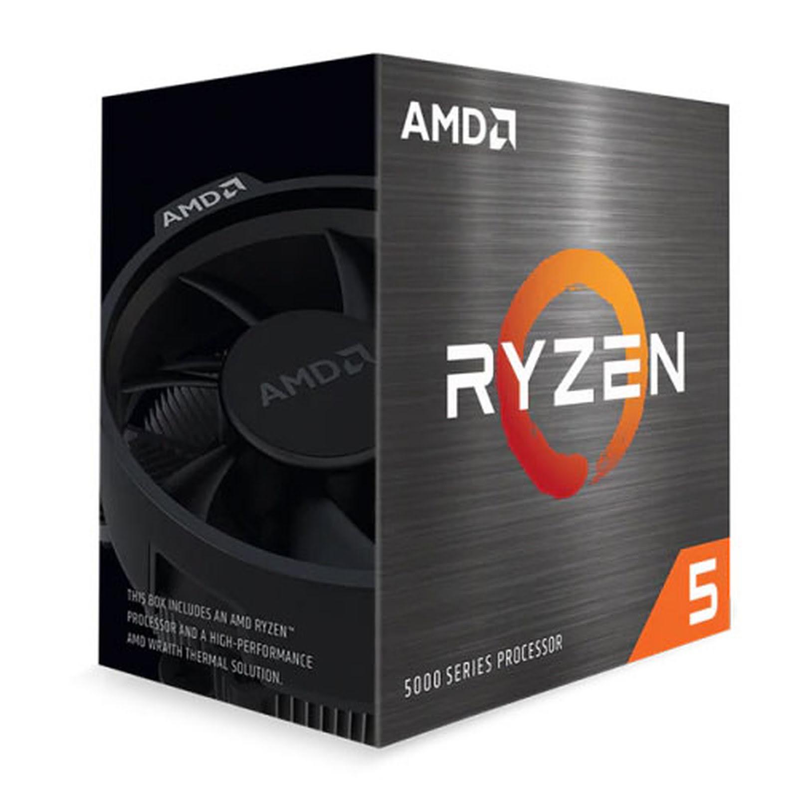 AMD Ryzen 5 5600X - 4.6GHz - Processeur AMD - Cybertek.fr - 0