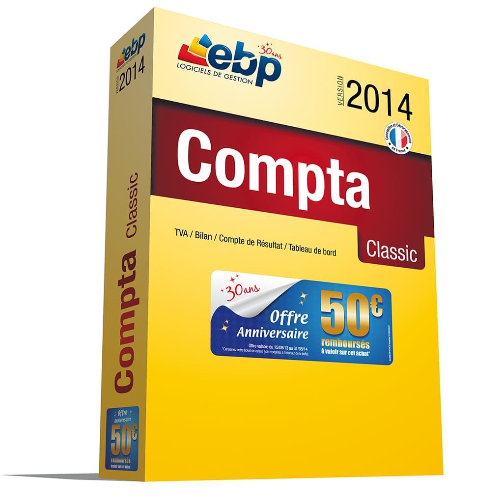 EBP Compta Classic 2014 (1066J060FAD) - Achat / Vente Logiciel Application sur Cybertek.fr - 0