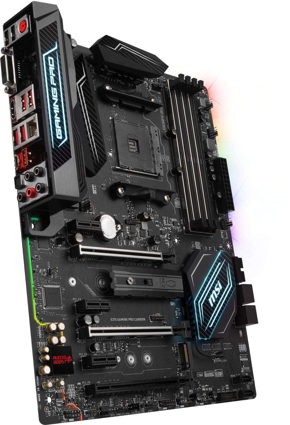 MSI X370 GAMING PRO CARBON ATX DDR4 - Carte mère MSI - Cybertek.fr - 2