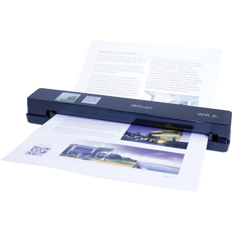 Iris IRIScan Anywhere 5 Wi-Fi - Scanner Iris - Cybertek.fr - 0
